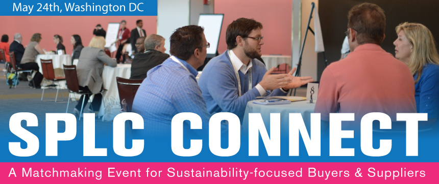 SPLC Connect: Sustainability Buyer-Supplier Matchmaking Event